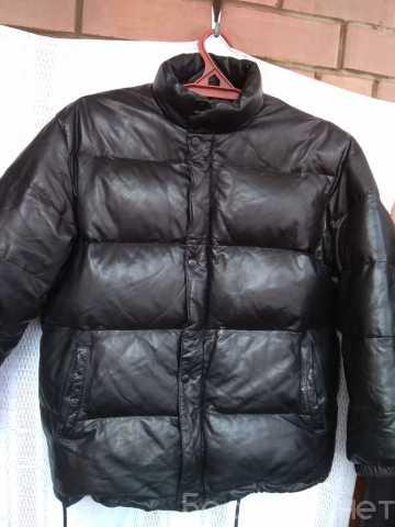 Продам: Пуховик кожаный Yu.Kenju (Япония). Зима