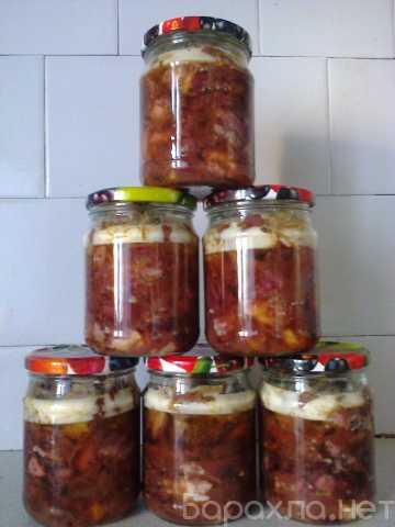 Продам: Тушёнка говяжья домашнего приготовления