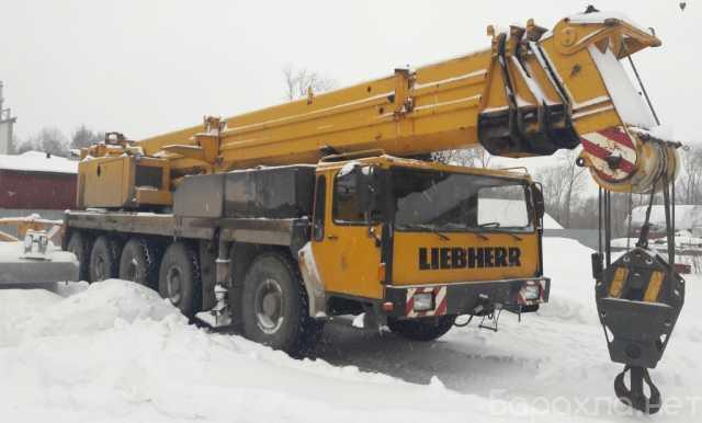 Продам: Продам автокран Liebherr LTM 1120,120тн
