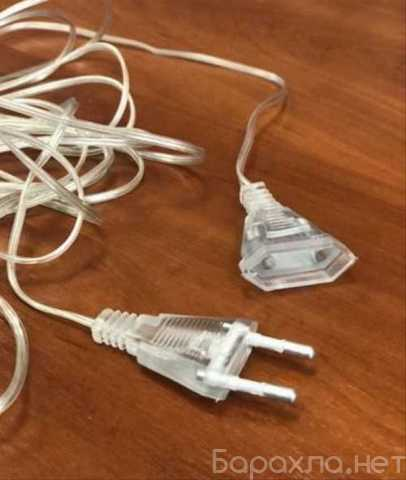 Продам: Удлинитель сетевого кабеля для гирлянд