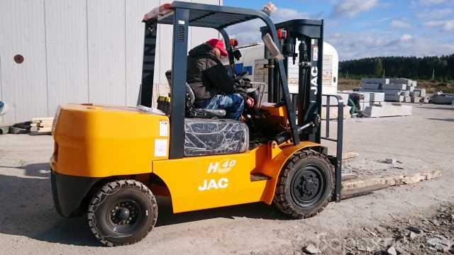 Продам: JAC CPCD40 Вилочный погрузчик г/п 4000 к