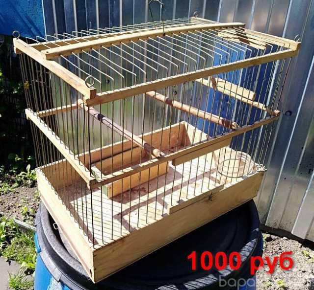 Продам: Клетки для птиц и зимний садок для попуг