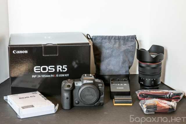 Продам: Canon EOS R5 Камера с RF 24-105mm f / 4L