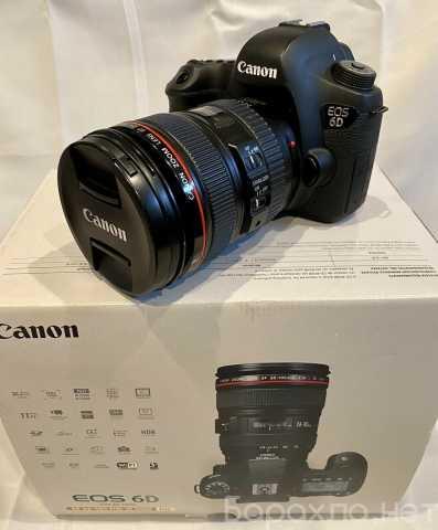 Продам: Canon EOS 6D Камера с 24-105mm объективо