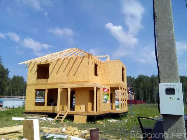 Продам: Строительство домов из сип панелей