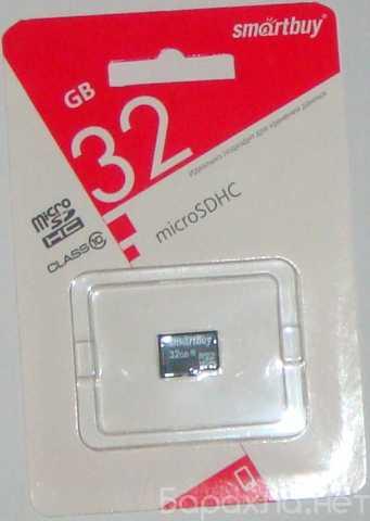 Продам: карта памяти micro sd 32 gb