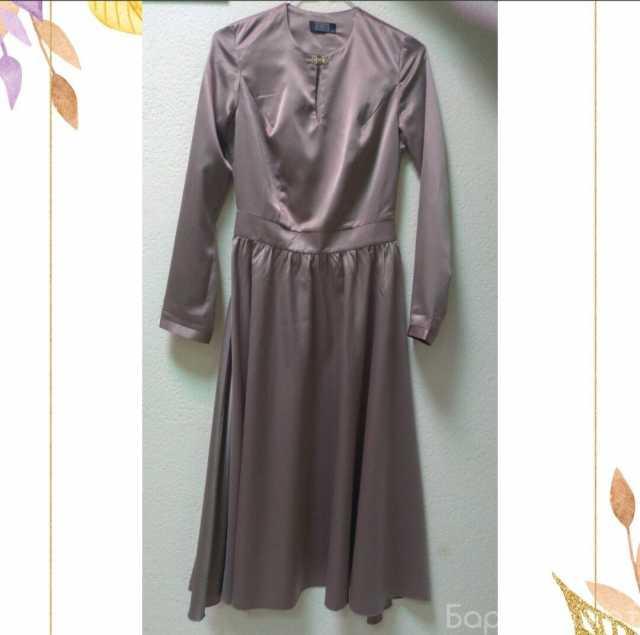 Продам: Новое платье из атласной ткани