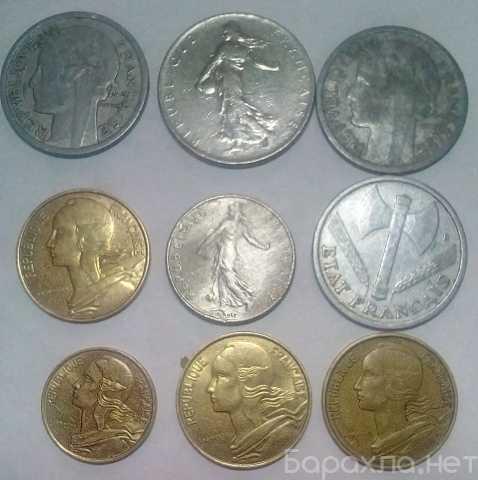 Продам: Набор монет франция Пятая Республика 197