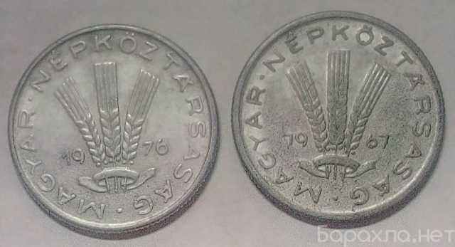 Продам: Набор монет Венгрия 20 филлеров, 1967-76