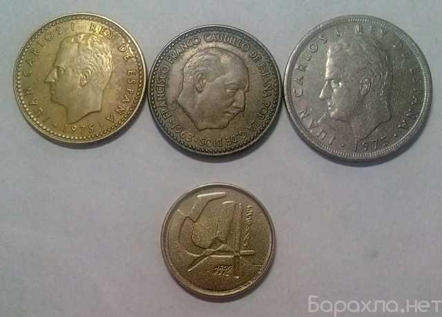 Продам: Набор монет Испания 5 песет, 1975 80 вну