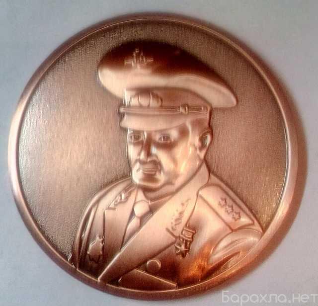Продам: медаль настольная герой россии трошев