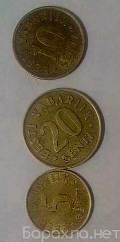 Продам: набор монет эстония 2ая Республика (Крон