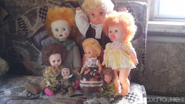 Продам: Куклы СССР (1973 - 1978) Веселая семейка