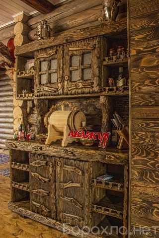 Продам: Кухня под старину из дерева фото цена со