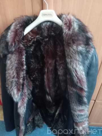 Продам: Кожаное пальто