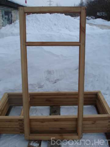 Продам: Створки оконные деревянные