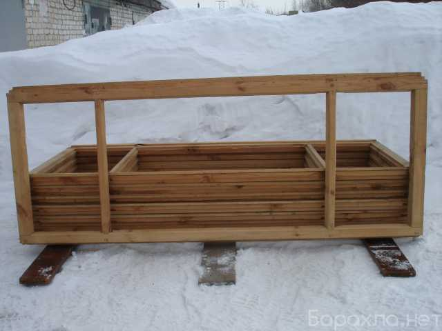 Продам: Рамы деревянные мансардные
