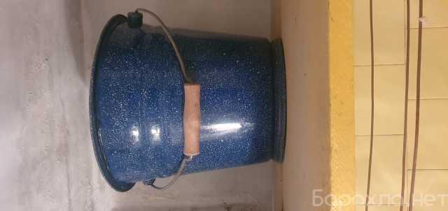 Продам: Эмалированное ведро ссср 10 литров. 2 шт