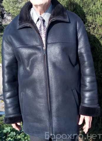 Продам: Мужская зимняя натуральная кожаная куртк