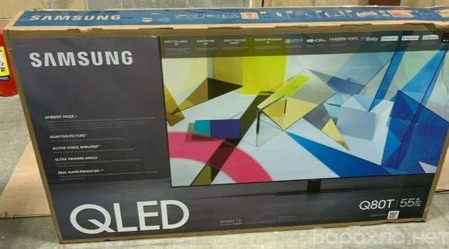 Продам: Samsung Q80T 55 QLED Smart TV (4K) QN55Q