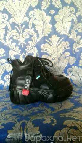 Продам: Ботинки на платформе черные очень лёгкие
