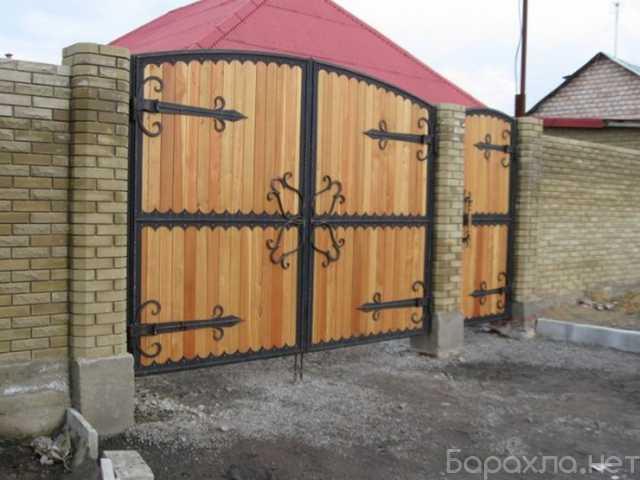 Продам: Ворота распашные откатные металлические