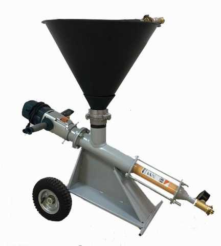 Продам: Шнековый насос для гидроизоляции кирпичн