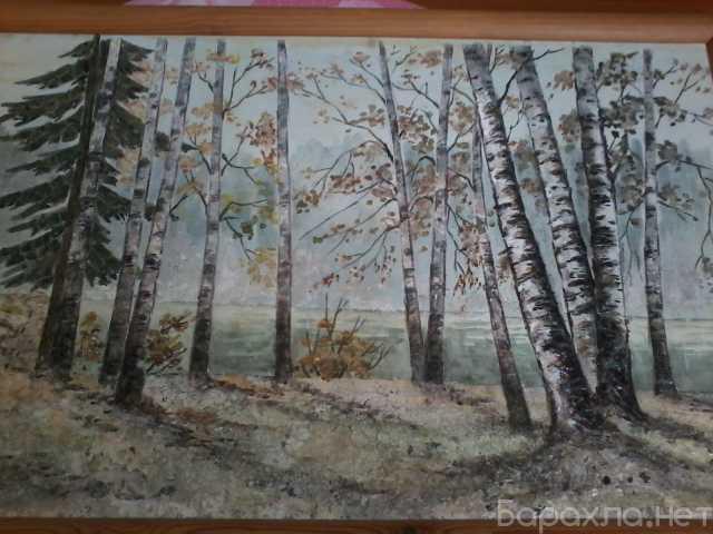 Продам: Картина в деревянной раме (с ракушками)