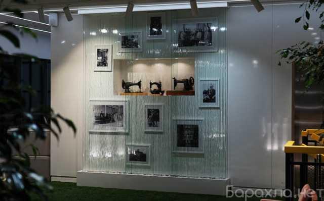 Продам: Декоративный водопад по стеклу