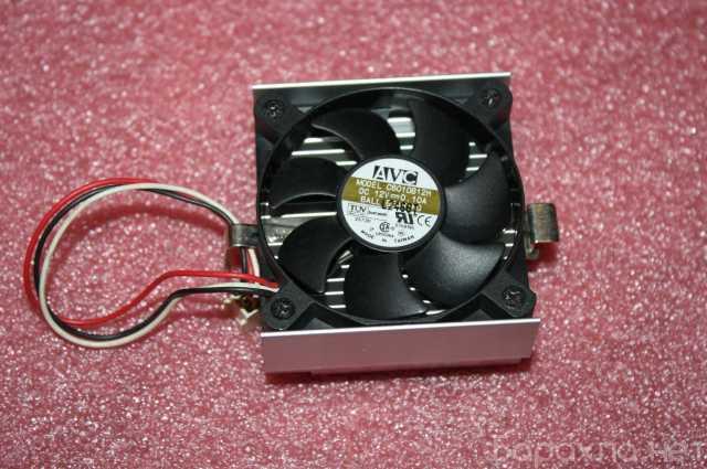 Продам: Кулер AVC C6010B12H с радиатором