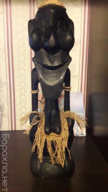 Продам: Африканская статуэтка из черного дерева