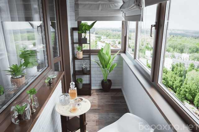 Предложение: Классическое остекление балконов и лоджи