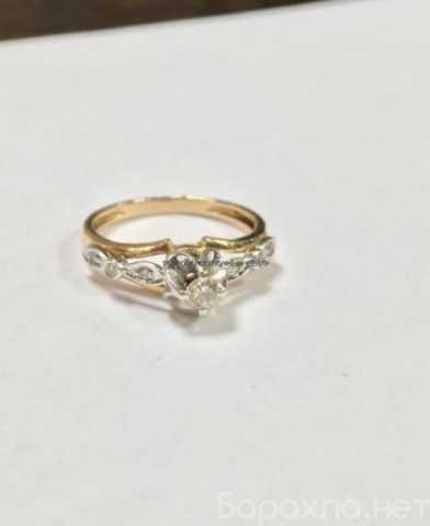 Продам: Кольцо из золота 585 с бриллиантами