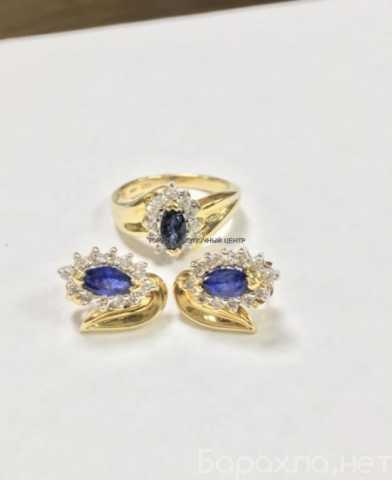 Продам: Гарнитур из золота 585 бриллиантами и са