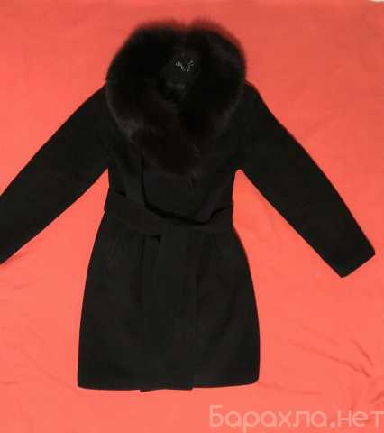 Продам: Чёрное зимнее шерстяное пальто S/M
