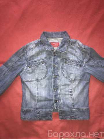 Продам: Джинсовая куртка голубая