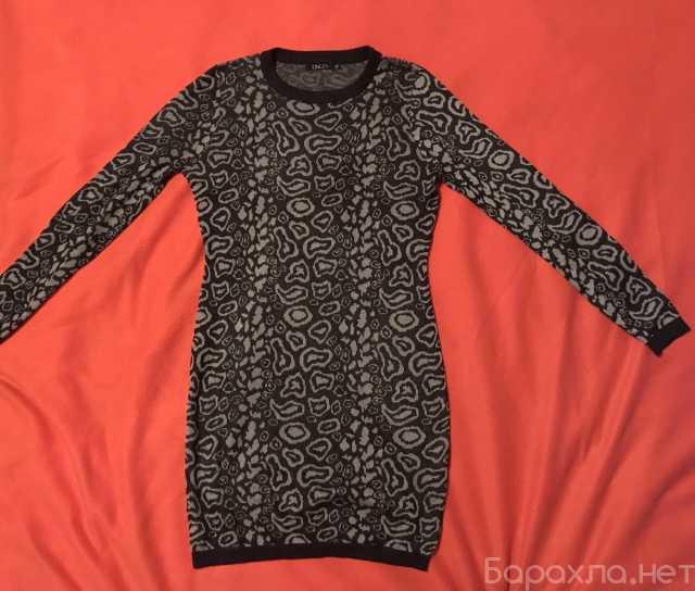 Продам: Платье серое теплое с длинным рукавом