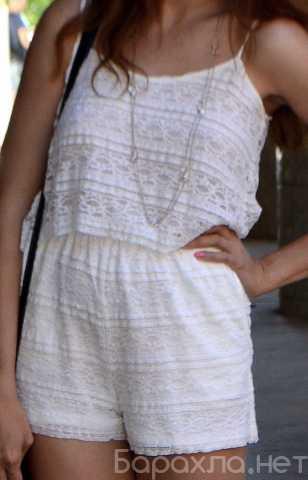 Продам: Комбинезон Zara белый гипюровый