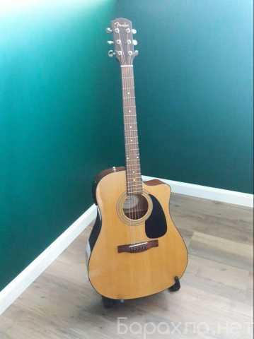 Продам: Гитару Fender CD-60CE NAT