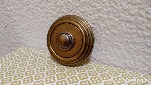 Продам: Дверной звонок, античная бронза