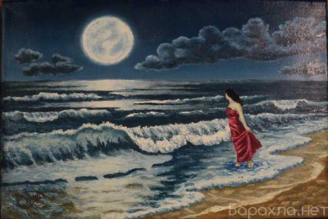 """Продам: """"Лунное притяжение"""" - картина в раме"""