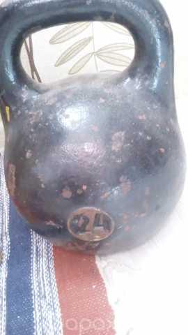 Продам: Гиря 24 кг чугунная