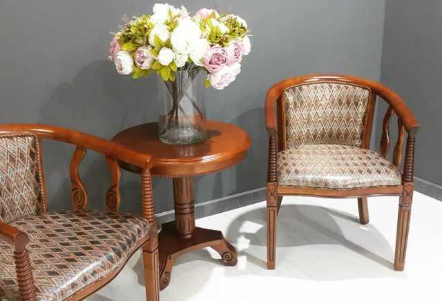 Продам: Чайная группа В-5. 2 кресла и столик