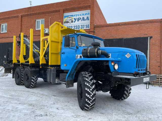 Продам: Урал сортиментовоз с ГМУ-BM10L74