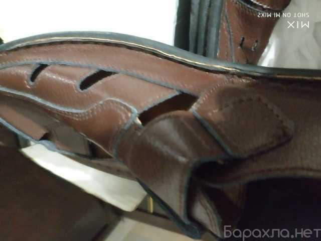 Продам: Новые коричневые сандалии прошитые