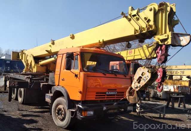 Продам: Продам автокран 32 тн-31м,Камаз,Ивановец