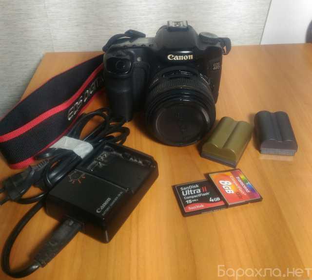 Продам: Canon 40d с объективом sigma 30mm f1.4
