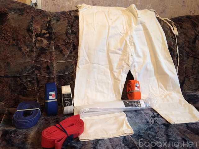 Продам: Пояс для кимано белый , оранжевый и др