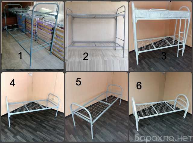Продам: Кровати металлические для общежитий 1,2я