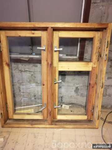 Продам: деревянные окна бу
